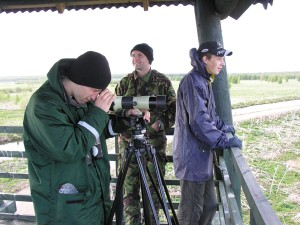 "A. Kalvāns, E. Lediņš un M. Briedis (""Naktsputni"").  Foto P. Strautiņš"