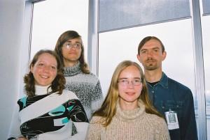 LOB komanda atklāšanas pasākumā.  Foto: Valts Kampiņš